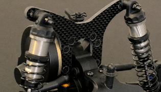 Mariposa trasera de carbono FTW para el DEX210