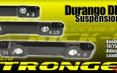 Placas de suspension de TeamSR para el DEX210