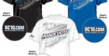 Camisetas Associated 2012
