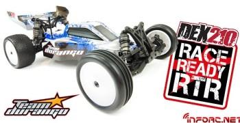 Nuevo Team Durango DEX 210 RTR