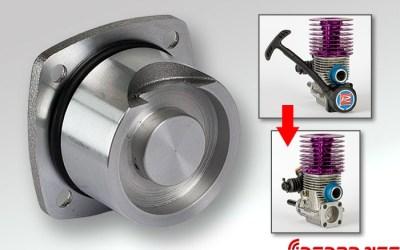 Tapa de carter Novarossi para motores con tirador y roto start