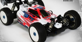Nueva Bittydesign Force 2.0 para Associated RC 8.2, estilo a un nivel superior