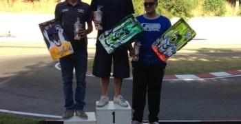 Crónica del Trofeo Luso Galaico 2013 de pista en Samil, Vigo