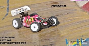 Última prueba del Campeonato de Málaga 2013, con 1/10 2WD incluido