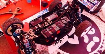 El Kyosho MP9 E de Jared Tebo en la Dirt Nitro Challenge, al detalle