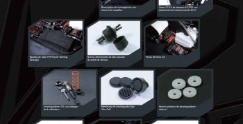 Resumen de la evolución del SWORKz S350 BK1 en un vídeo