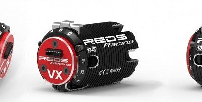 Nuevos motores Brushless VX Sensored de REDS Racing