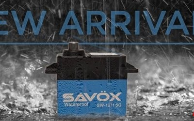 Nuevos servos brushless y waterproof de Savox