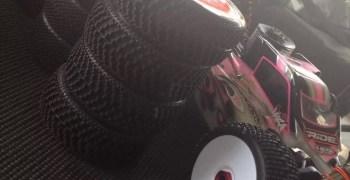 Hara realizando pruebas de los neumáticos TPro