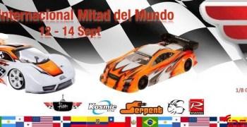 Invitación a la Copa Internacional Mitad del Mundo. 12 - 14 de Septiembre