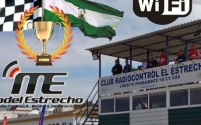 Cartel: Segunda prueba del Campeonato de Andalucía 1/8 TT Eléctrico