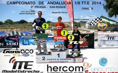 Crónica: Segunda prueba del Campeonato de Andalucía 1/8 TT Eléctrico 2014 - San Roque