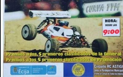 Este finde, Campeonato Cordoba-Jaén 1/8 TT gas en Écija