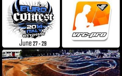 VRC Pro, sponsor oficial de la Euro Contest 2014. Prueba el juego en el circuito