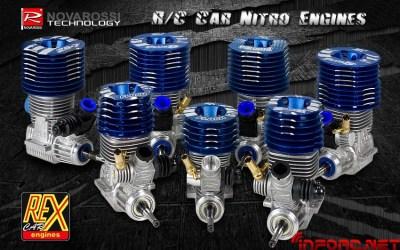 Nueva gama de motores Rex para on y off road