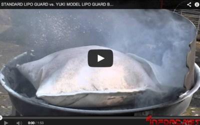 Video: Así arden las LiPo incluso dentro de las bolsas ignífugas