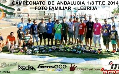 Cronica 3ª Prueba Campeonato de Andalucia 1/8 TT.E 2014