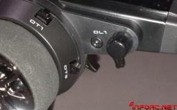 El dial1 también cambia de plano para facilitar el acceso y manejarlo con la mano derecha.