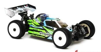 Nueva carrocería Force de Bittydesign para el XRay XB8