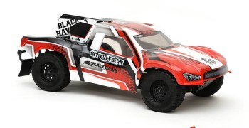 Nueva Black Hawk de Bittydesign para Short Course 1/10
