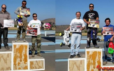 Resultado final del Campeonato de Chile 1/8 off road
