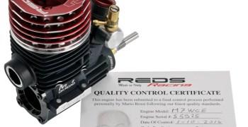Nuevo REDS M7WCS Red Series edición limitada. Ultra preparado por Mario Rossi