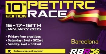 10º aniversario de la PetitRC Race en el RBR36 Arena