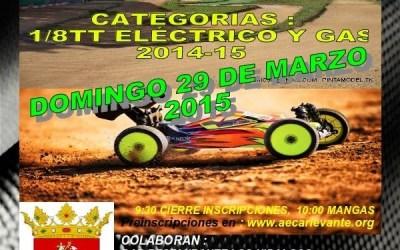 6ª prueba Provincial Castellón 1/8 tt gas y eléctrico