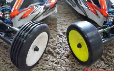 Sweep presenta sus neumáticos delanteros para 1/10