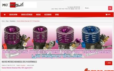 Nueva gama Novarossi, ya disponibles en RCWorld