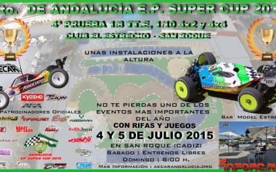 4 y 5 de Julio: Cuarta prueba de la Andalucía EP Supercup 2015. El Estrecho.