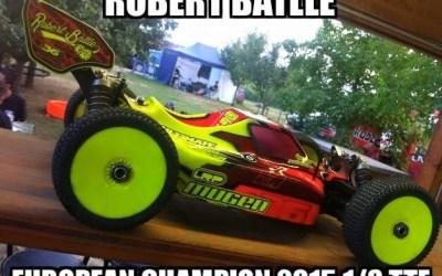 Robert Batlle, Campeón de Europa 1/8 TT-E 2015
