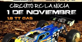 1 de Noviembre - Segunda prueba del Provincial de Alicante 1/8 TT Gas 2015