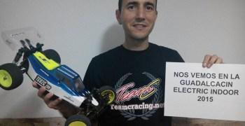 Raul Moreno, confirmado para la Guadalcacín Electric Indoor 2015