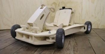 Plyfly, el kart de madera que se monta en unas horas