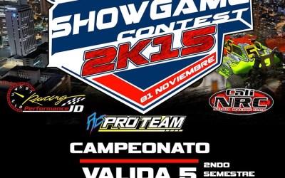 1 de Noviembre: Showgame contest en Cali, Colombia