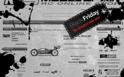 ¡Black Friday en Modelspain! Gastos de envío gratis y descuentos