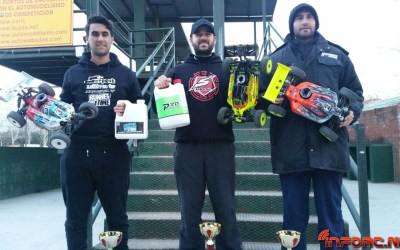 Crónica - Primera prueba del Campeonato Zona Centro 1/8 TT Gas. Fuencarral.