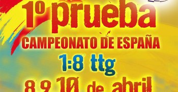 8, 9 y 10 de Abril - ¡Comienza el Campeonato de España 1/8 TT Gas!