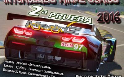 20 al 22 de Mayo -  Segunda prueba Campeonato Interclubs MiniZ Series