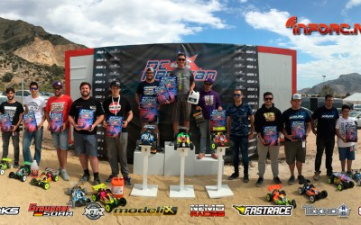 Warm Up Euros 1/8 Off Road Redovan - Resultados finales