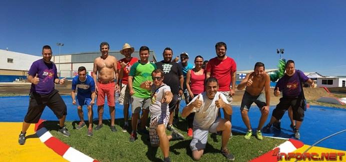 El equipo de RC Alhaurin de la Torre