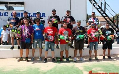 Resultados - Cuarta prueba Campeonato de España B 1/8 TT Gas 2016 en Chiclana de la Frontera