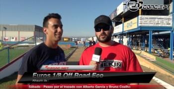 Video - Paseo por el trazado de Alhaurín de la Torre con Alberto García y Bruno Coelho