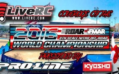 Horarios - Campeonato del Mundo en Las Vegas