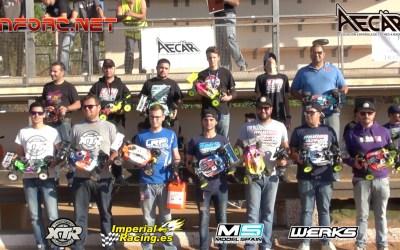 Video - Final completa Campeonato de España 1/8 TT Gas Montjuic. Comentada con Robert Batlle y con entrevistas.