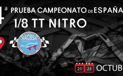Cierre de inscripciones para la última prueba del Campeonato de España A 1/8 TT Gas 2016
