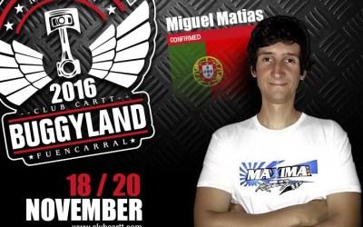 Buggyland 3.0 - Confirmado Miguel Matías