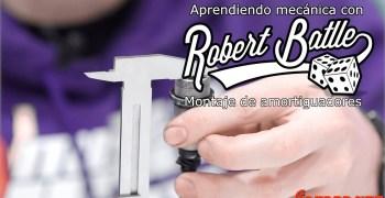 Tutorial por Robert Batlle - Cómo montar y rellenar los amortiguadores de un coche rc (english subs)