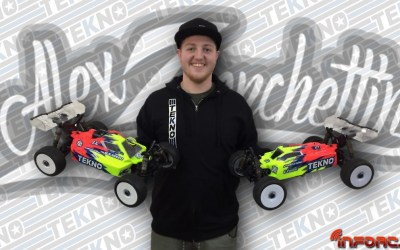 Video - Alex Zanchettin ficha por Tekno RC